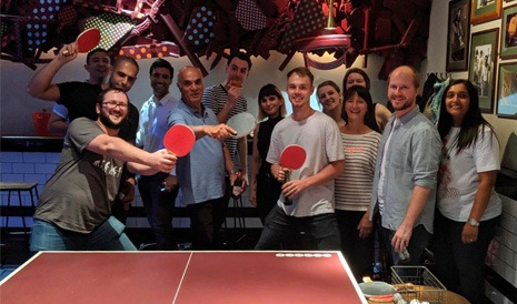 Ping Pong Team Event